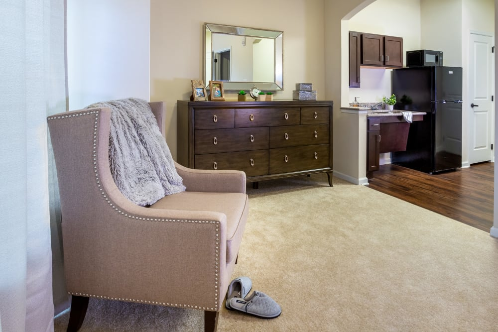Studio apartment at Harmony at Five Forks in Simpsonville, South Carolina