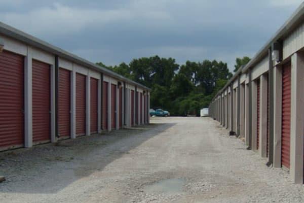 Storage units at Ryland Mini Storage in Huntsville, Alabama near Ryland Mini Storage