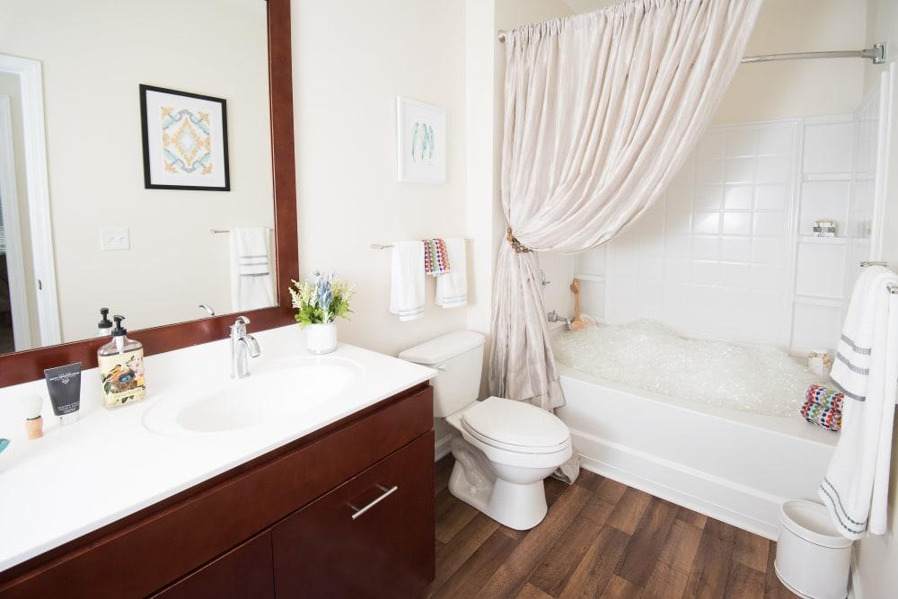 Enjoy a clean bathroom at Manor Six Forks