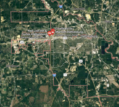 Learn more about Landmark Apartments Hattiesburg location