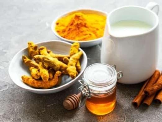 ginger honey and cinnamon