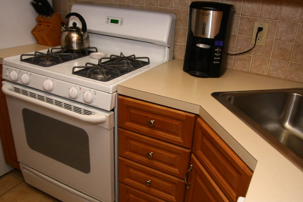 Fully equipped kitchen at The Heights at Spring Lake  in Spring Lake, New Jersey