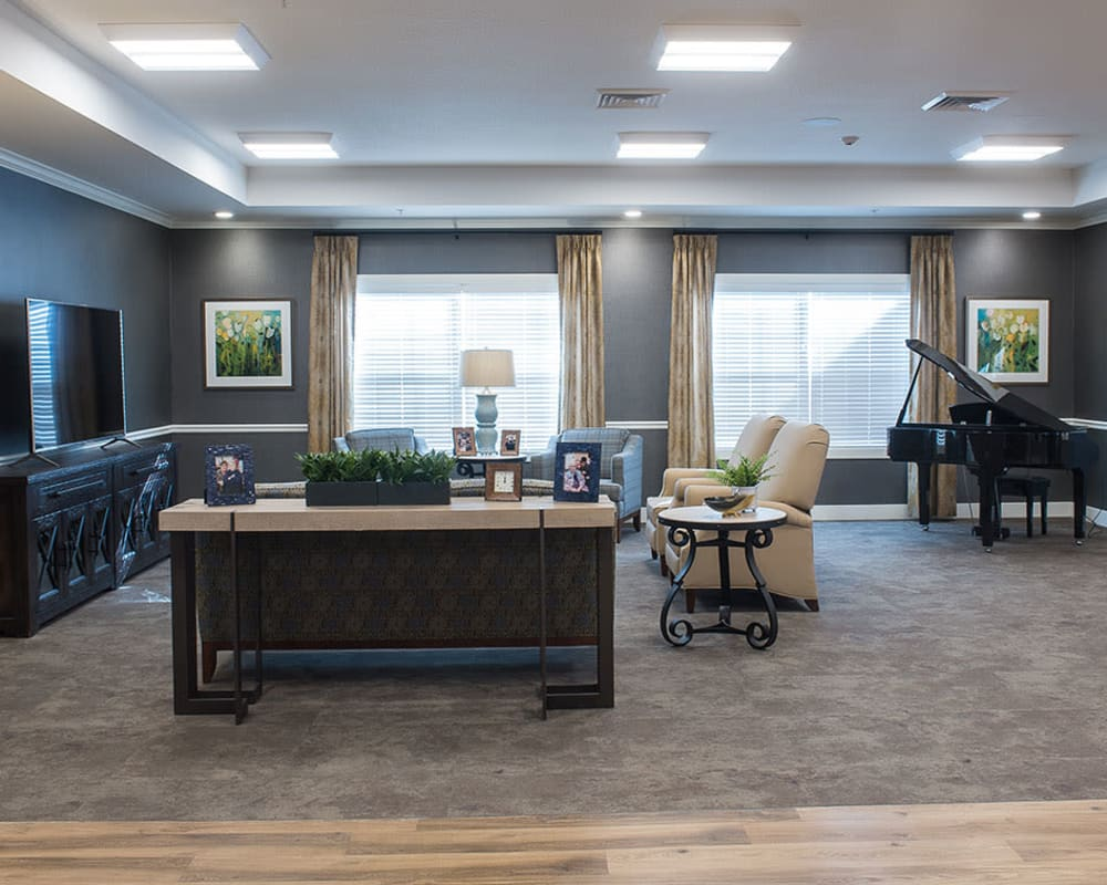 Comfortable living spaces at Heritage Health Care in Chanute, Kansas