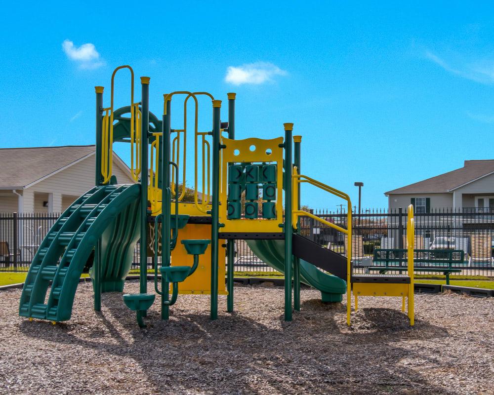 A kids playground near The Retreat at Sherwood in Sherwood, Arkansas