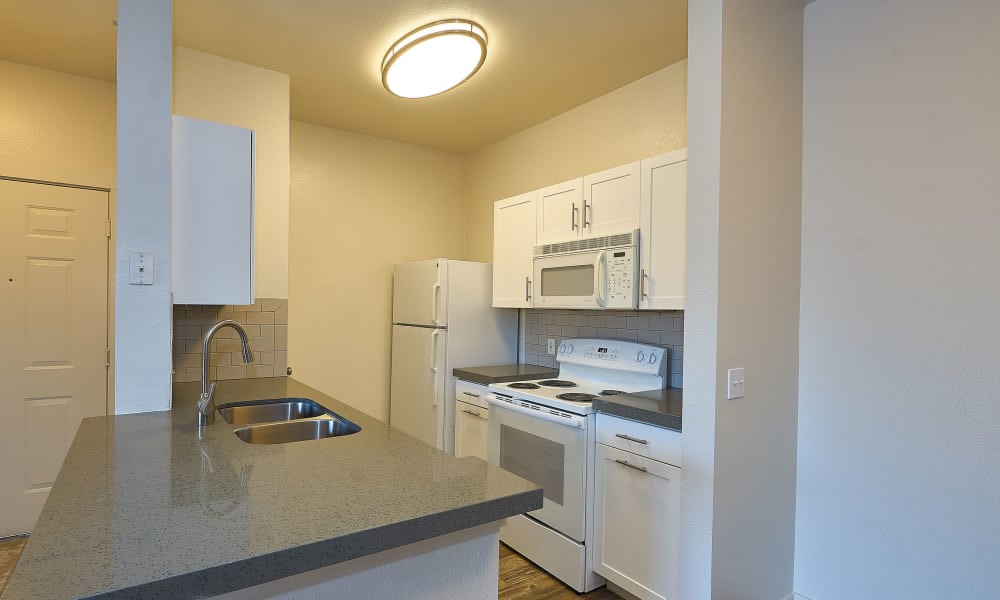 Kitchen at Preston Hollow Apartments