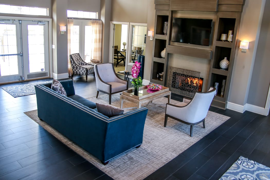 Luxurious clubhouse at Winchester Apartments in Amarillo, Texas