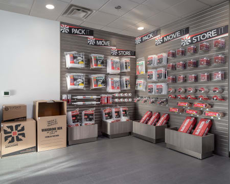 Packing supplies available at StorQuest Self Storage in Bothell, Washington