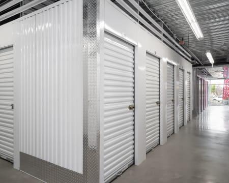 Indoor storage at StorQuest Self Storage in Bothell, Washington