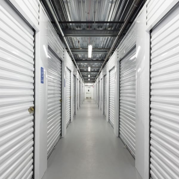 Climate controlled units at StorQuest Self Storage in Westbury, New York