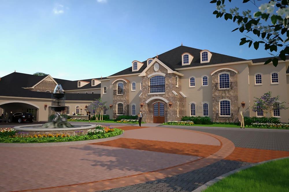 Rendering of Worthington Manor in Conroe, Texas