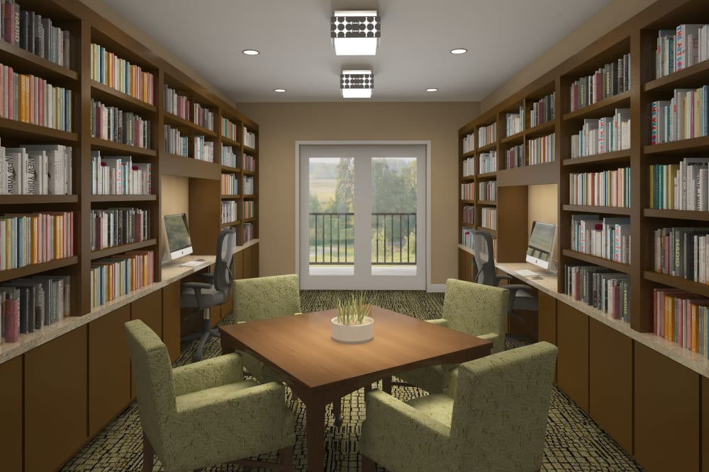 Library at Harmony at Mt. Juliet in Mt Juliet, Tennessee