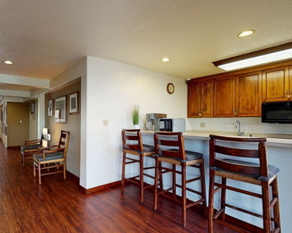 View a virtual tour of the resident clubhouse at Village Pointe in Northridge, California