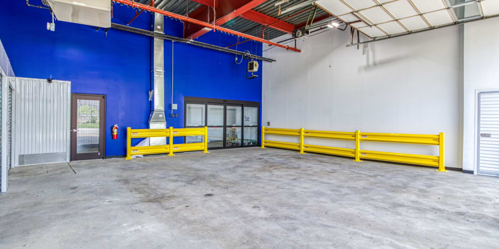 Access to units at Devon Self Storage in Cincinnati, Ohio