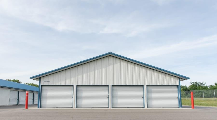 Exterior of outdoor units at KO Storage of Maple Lake - Cenex in Maple Lake, Minnesota
