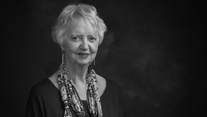 Portrait of Jeannie Alton, resident of Touchmark at Wedgewood