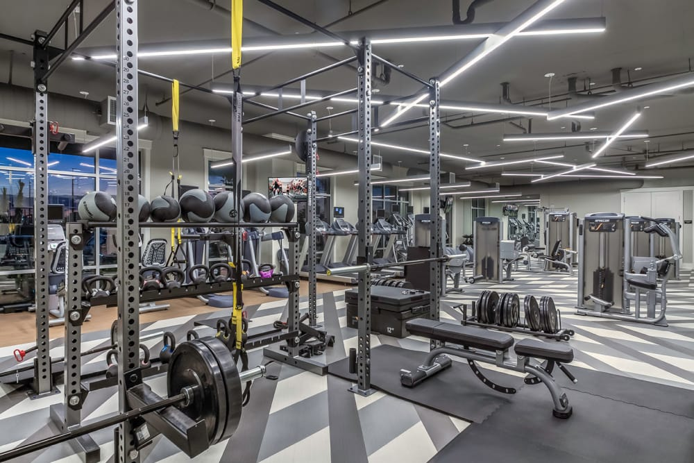 state of art fitness center