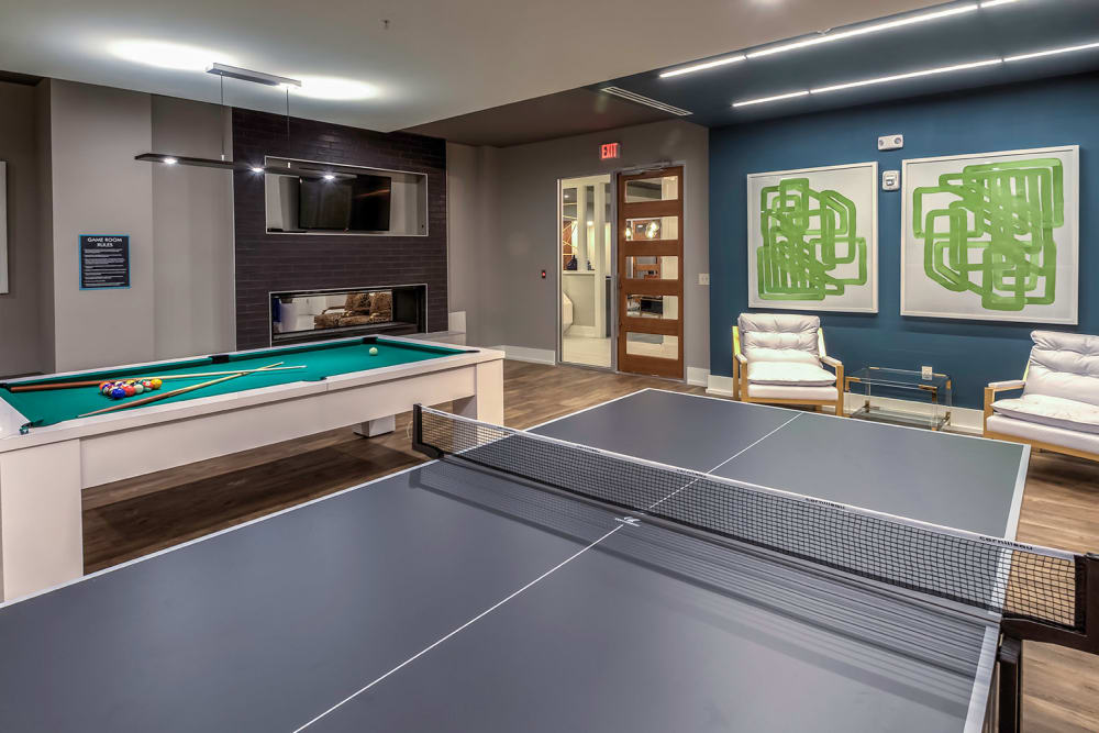 Game room at  in Orlando, Florida