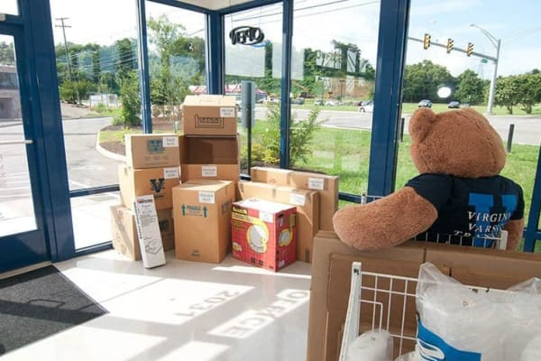 Boxes and supplies sold at Virginia Varsity Self Storage in Roanoke, Virginia