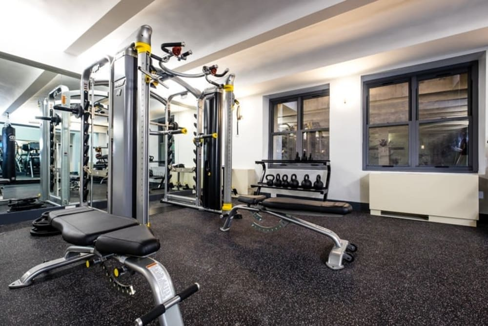 Fitness center at 210-220 E. 22nd Street in New York, New York