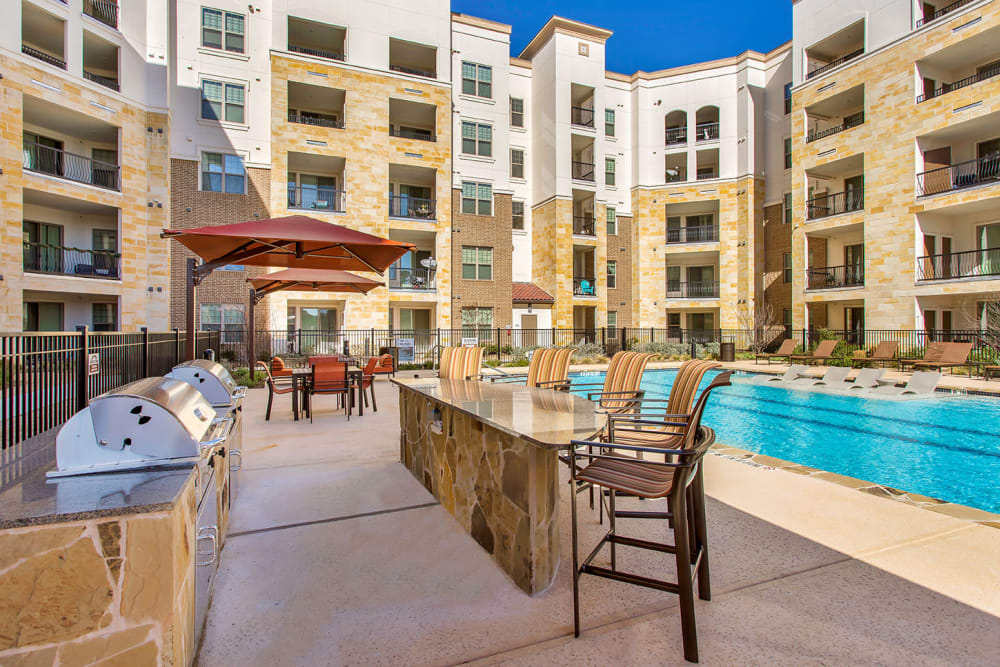 Our Apartments in San Antonio, Texas offer a BBQ Area