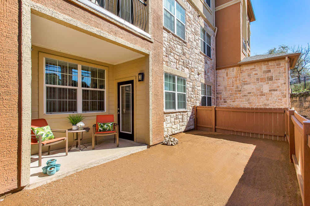 Apartments with a Private Patio & Backyard Space in San Antonio, Texas