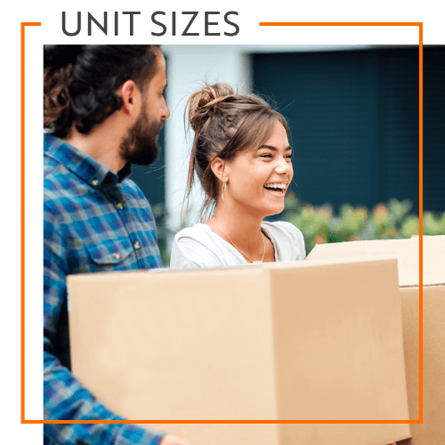 View our unit sizes for Storage Units in Aiken, South Carolina