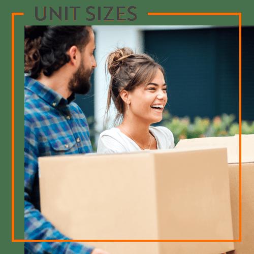 View our unit sizes for Storage Units in Saint Cloud, Florida