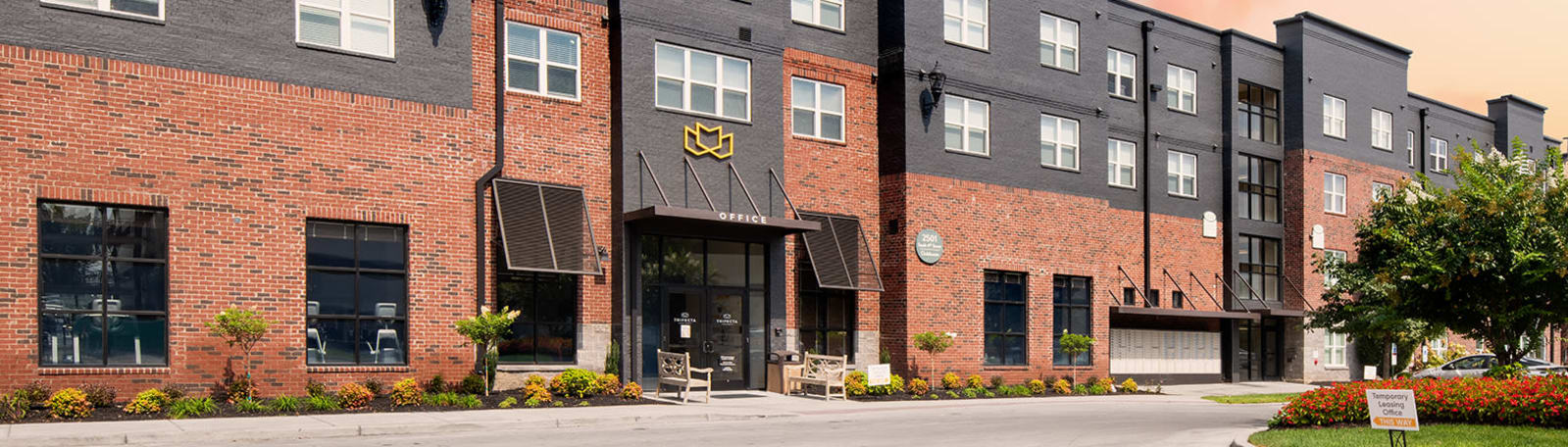 Contact information for Trifecta Apartments in Louisville, Kentucky.