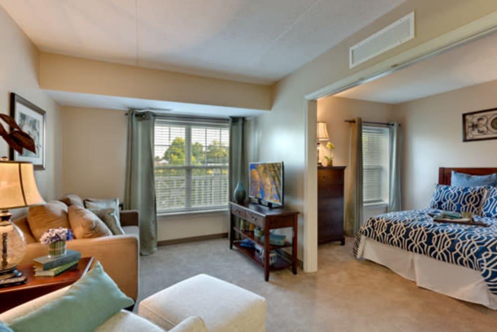 senior living apartment at Carriage Court of Kenwood in Cincinnati, Ohio