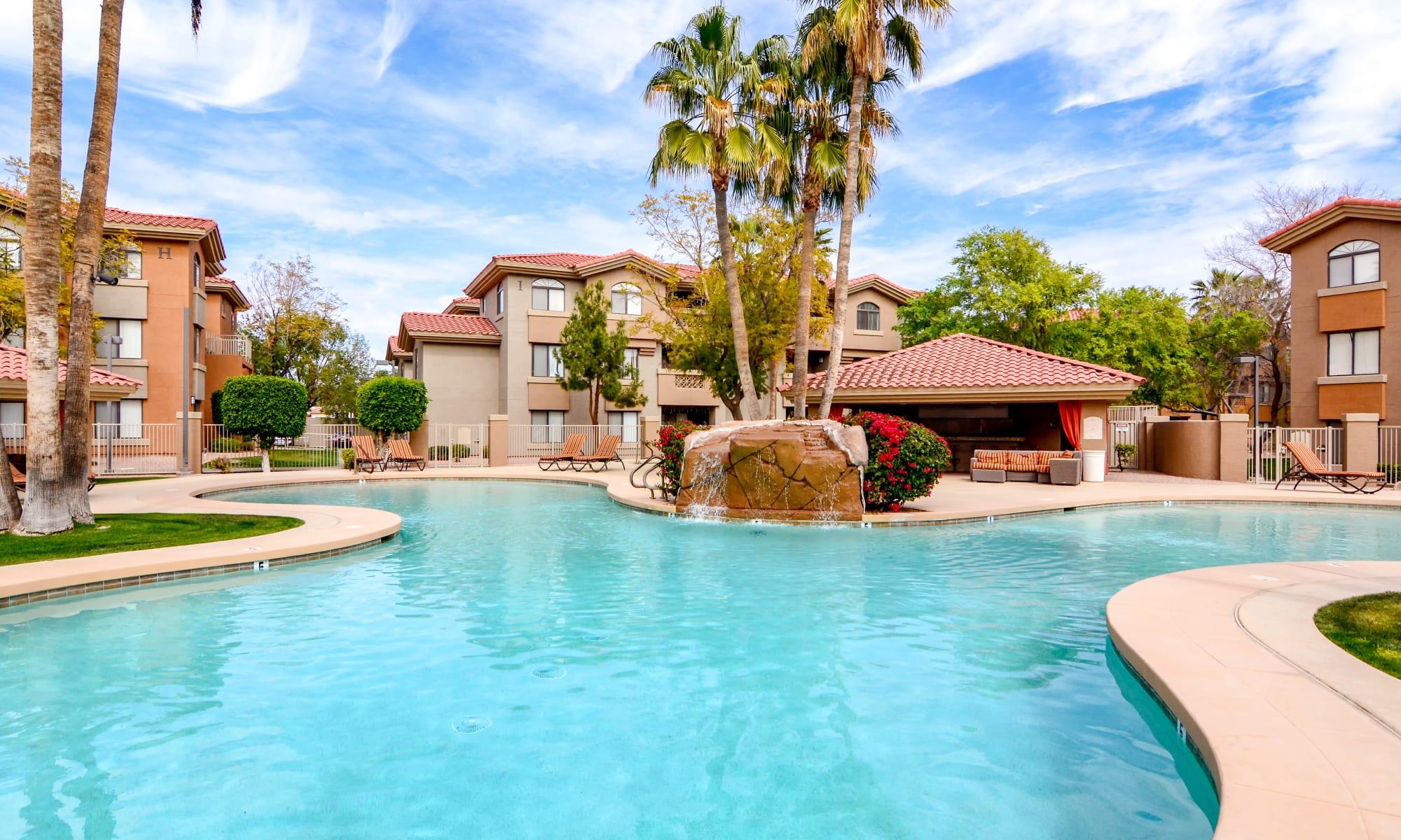 Tempe, Arizona apartments at The Palms on Scottsdale