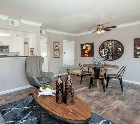 Open-concept layouts at Sandpiper Village Apartment Homes in Vacaville, California