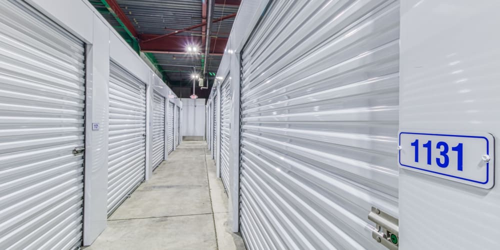 Interior units at Devon Self Storage in Cincinnati, Ohio