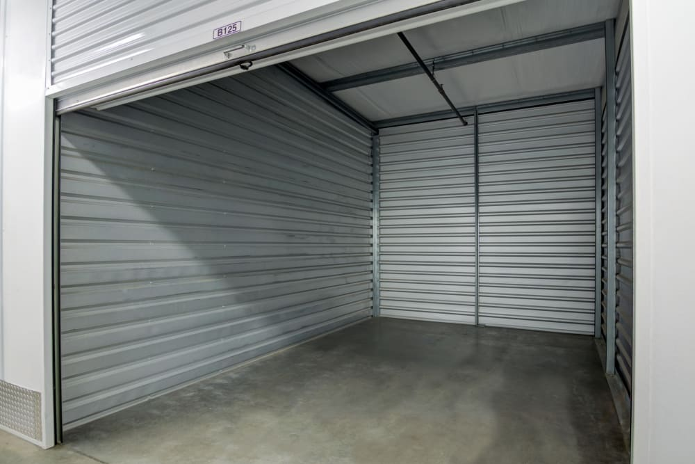 Clean interior storage units at Butterfield Ranch Self Storage