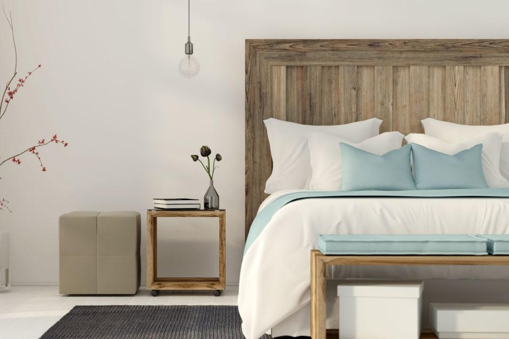 A spacious bedroom at Eighteen51 Brinker in Denton, Texas