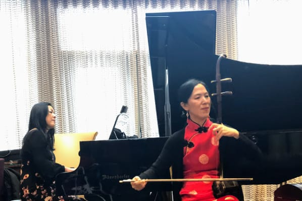 Chinese New Year Performance with Master Erhu Artist, Xiao Dong Wei