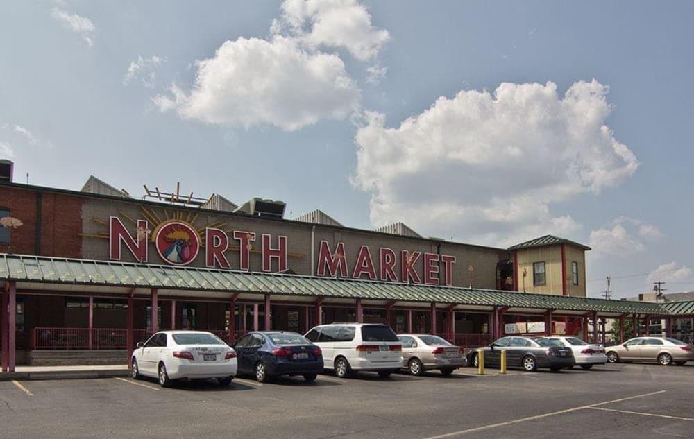 North Market near Easton Commons in Columbus, Ohio