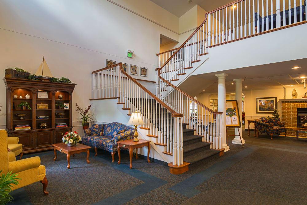 Senior Living Lobby in Michigan City Indiana