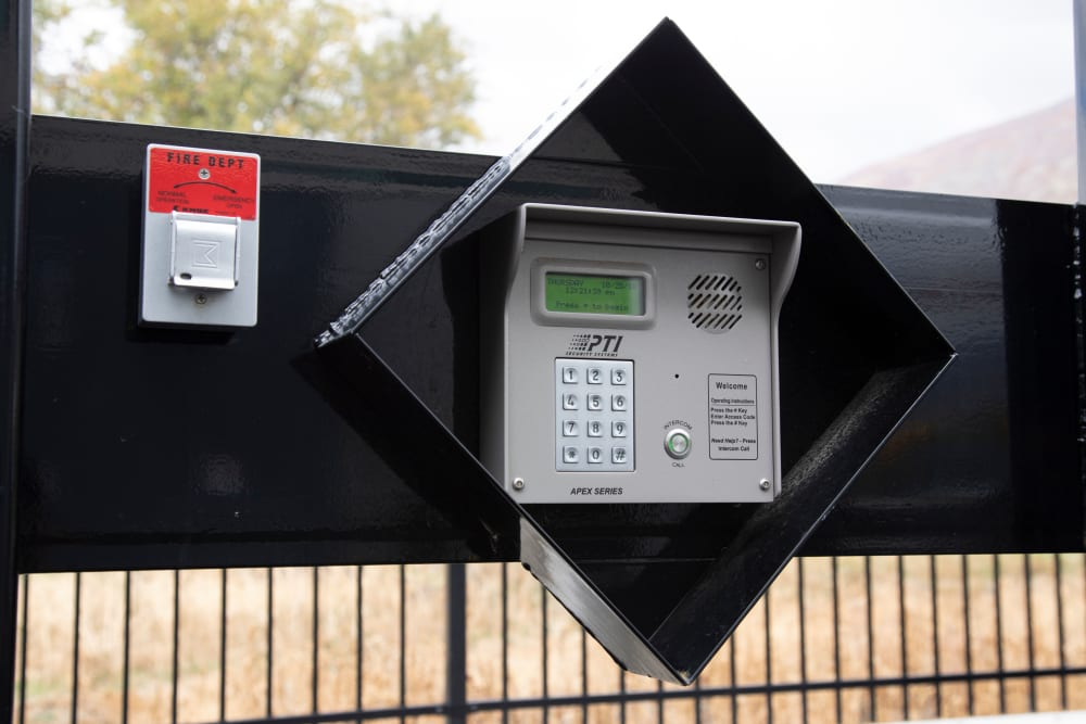 Security Features at Lock It Up Self Storage in Layton, Utah