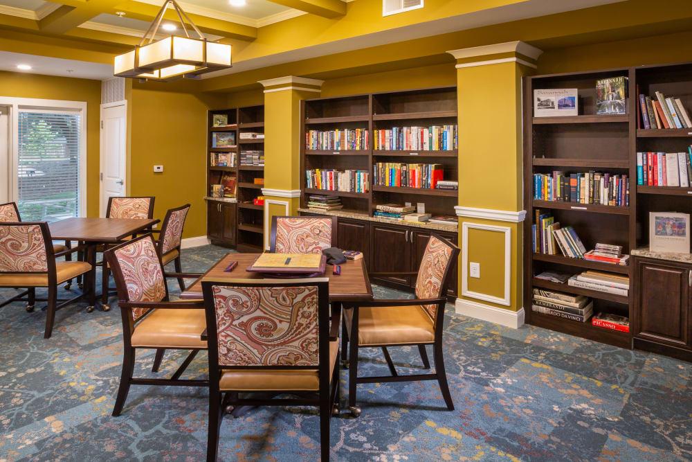 Library at Harmony at Savannah in Savannah, Georgia