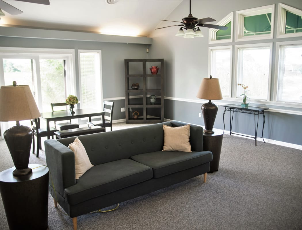Village Green Apartments offers a fully equipped fitness center in Baldwinsville, NY
