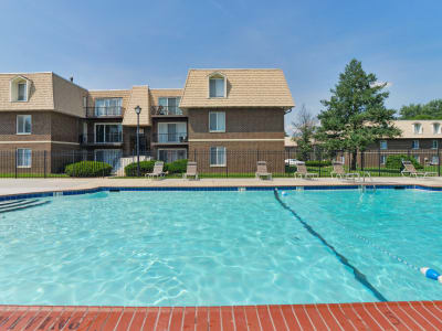 Country Village Apartment Homes offers swimming pool in Dover, Delaware