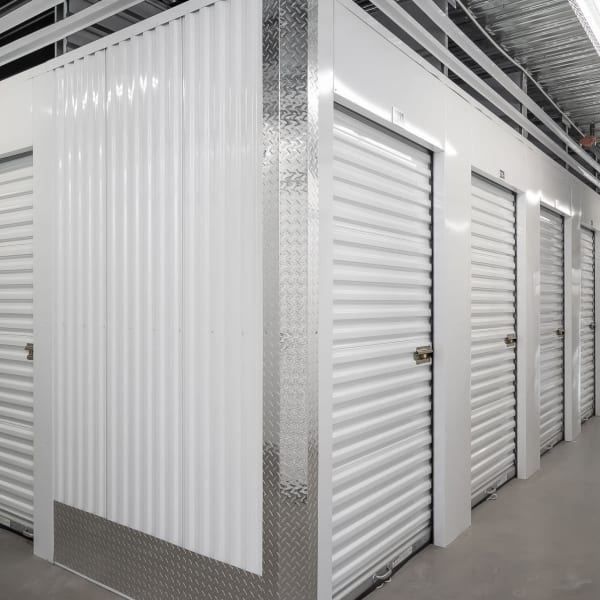 Indoor storage units at StorQuest Self Storage in Key West, Florida