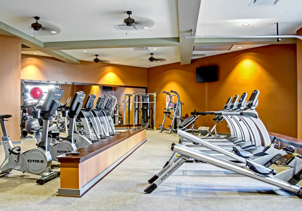 Station 40 offers a state-of-the-art fitness center in Nashville, Tennessee