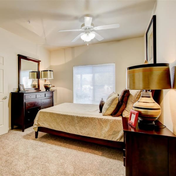 Bedroom at Capitol Place Apartments in West Sacramento, California