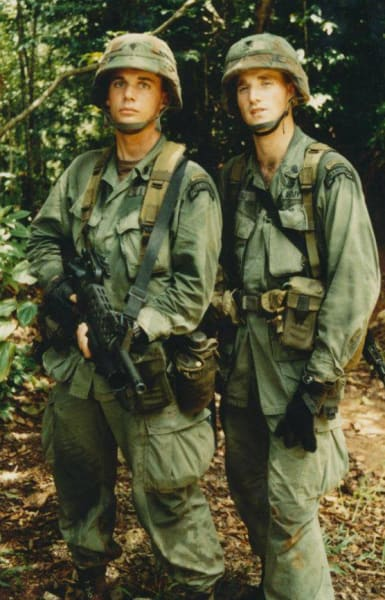 Land navigation course completed, Ft. Sherman, Panama, 1988