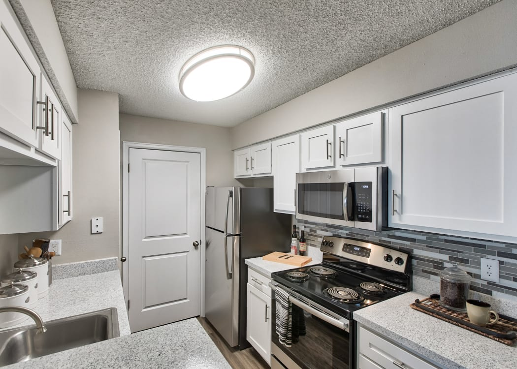 Beautiful kitchen at Mountain View Apartment Homes
