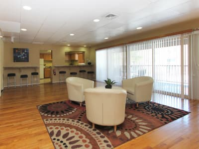 Living room at Lighthouse at Twin Lakes Apartment Homes