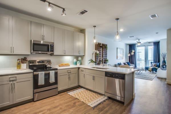 Wonderful kitchen at The Ellison in Dallas, Texas