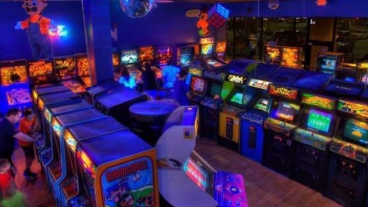 Classic arcade games near Olympus Auburn Lakes in Spring, Texas