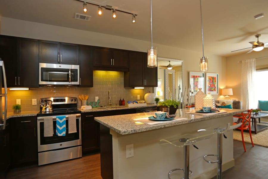 Kitchen at Dwell at Legacy